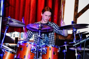 James Plows on Drums