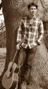 Danny at a photoshoot at Mersham Hatch Deer Park earlier in the year