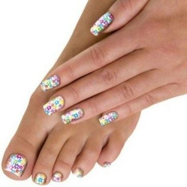 Ladies..a little bit of you time maybe? Nail wraps while you listen to the music? Sorted!