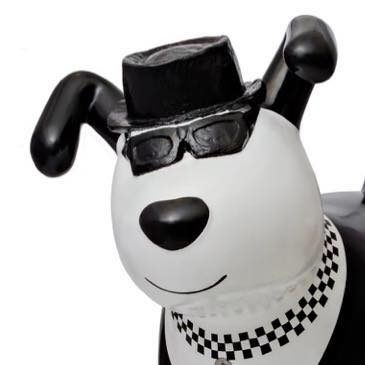 2 Tone Ska Dog set for his first festival visit!